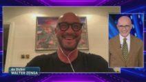 Grande Fratello VIP - Walter Zenga in collegamento con lo studio