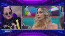 Grande Fratello VIP - Lo scontro tra Stefania Orlando e Cristiano Malgioglio