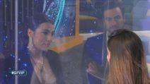 Grande Fratello VIP - L'incontro fra Giulia Salemi e Ariadna Romero