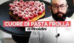Il dolce di San Valentino di Roberto Rinaldini: la ricetta della crostata a cuore