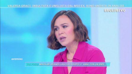 """Domenica Live - Valeria Graci: """"Io insultata e umiliata dal mio ex"""""""