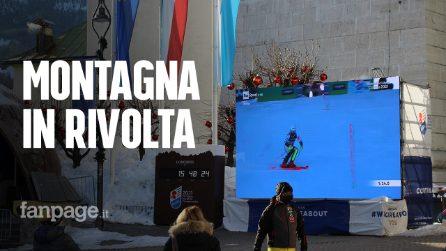 """Cortina d'Ampezzo, l'ira del settore turistico invernale: """"Offesi dal nuovo Governo"""""""""""