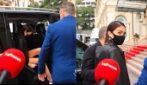 """Sanremo, l'arrivo di Elodie al Casinò: """"Emozionata? Certo"""""""