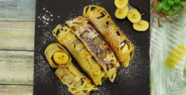 Banana enrolada: como fazer uma guloseima deliciosa em poucos minutos!