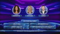 Stefania Orlando, Samantha De Grenet e Andrea Zenga al televoto