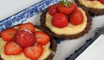 Strawberry vanilla tarts: how to prepare a special dessert