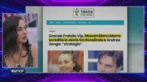 Grande Fratello VIP - Massimiliano Morra attacca Rosalinda
