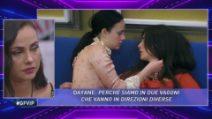 Grande Fratello VIP - Il chiarimento tra Dayane Mello e Rosalinda Cannavò