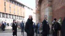 I funerali Mauro Bellugi nella Basilica di Sant'Ambrogio