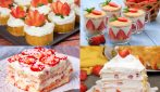 4 Fresh and delicious strawberry desserts!