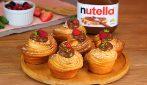 Cruffins con Nutella®: i dolcetti sfogliati croccanti fuori e morbidi dentro!
