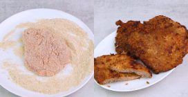 Crunchy cutlets: easy and ready in no time!