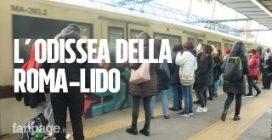 Treni vecchi, attese infinite e zero regole anticontagio: i pendolari abbandonano la Roma Lido