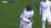 Champons, Atalanta-Real Madrid 0-1, gol e highlights