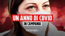 Campania, il racconto di un anno di Covid tra paura, zona rossa e lockdown