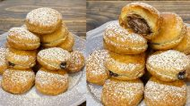 Puff pastry bombs: a delicious treat ready in 20 minutes!