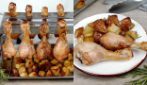 Hanged chicken: soft and tasty, you can't miss this recipe!