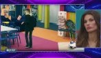 Stefania Orlando e Dayane Mello si scontrano dopo la nomination a Rosalinda