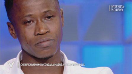 Cherif Karamoko ricorda la madre, morta di Ebola quando aveva 15 anni