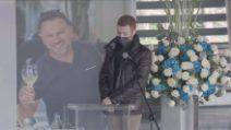"""I funerali di Fausto Gresini, il figlio: """"Ciao Babbone, sei stato un uomo vero"""""""