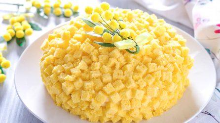 Torta mimosa: la ricetta per preparare un dessert bellissimo e goloso