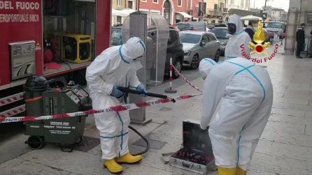 Si rompe la caldaia, famiglia in quarantena chiede aiuto ai pompieri