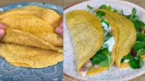 Crepes magiche con 1 ingrediente: leggere, saporite e facili da preparare!