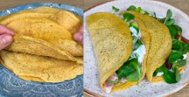 1 ingredient magic crepes: light, delicious and super easy to make!
