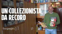 """Gianni Bellini, il più grande collezionista di figurine al mondo: """"Non è solo cultura calcistica"""""""