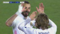 Champions: Real Madrid-Atalanta 3-1, gol e highlights
