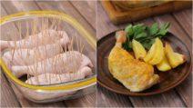 O segredo para deixar um frango suculento e saboroso!