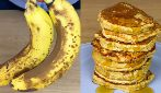 Oatmel banana pancakes: ready with 4 ingredients!