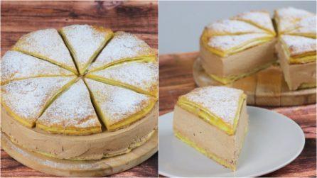 Bolo folhado: uma ideia legal para um doce gostoso pronto em poucos passos!