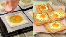 Quadrados de massa folhada e ovo: perfeitos como petisco!