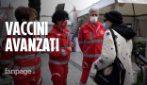 Roma, ripartono le vaccinazioni con Astrazeneca e c'è chi chiede se ci sono dosi avanzate