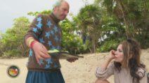 L'Isola dei Famosi - Fariba e Ubaldo su Parasite Island
