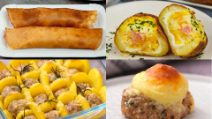 4 creative and tasty recipes for a special dinner!
