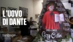 """Dante Alighieri, un uovo di 300 chili per i 700 anni dalla morte: """"Dà un messaggio positivo"""""""