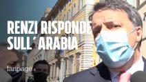 """Le risposte di Renzi sull'Arabia: """"Non ho conflitti d'interesse, riparlerei di Rinascimento"""""""