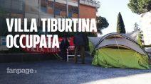 """Occupata Villa Tiburtina: """"Basta promesse, con il Covid riaprire i presidi sanitari è una priorità"""""""