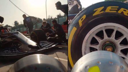 Formula 1, l'emozione di un pit stop da vicino: le immagini come non le avete mai viste