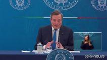 """Draghi sui vaccini: """"Non ho dubbi che gli obiettivi vengano raggiunti"""""""