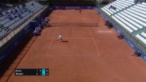 ATP Cagliari, Musetti batte Evans 6-1, 1-6, 7-6: video