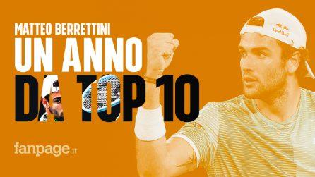 """Matteo Berrettini a Fanpage: """"Sinner e Musetti uno stimolo per me"""""""