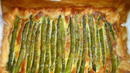 Ricetta Quiche Asparagi E Pancetta.Quiche Con Asparagi E Pancetta Affumicata La Ricetta Veloce E Piena Di Gusto