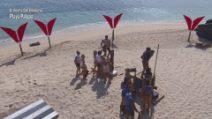 L'Isola dei Famosi - Prova Ricompensa (Formazione squadre)