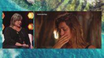 L'Isola dei Famosi 2021, Elisa Isoardi e le lacrime per la madre
