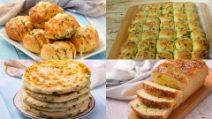5 Modi creativi e originali di preparare il pane all'aglio!