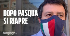 """Dl Covid, Salvini contro il governo: """"Dopo Pasqua tornino le zone gialle, Speranza vede solo rosso"""""""
