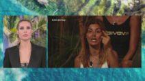 L'Isola dei Famosi, lo scontro tra Daniela Martani, Gilles Rocca e Valentina Persia